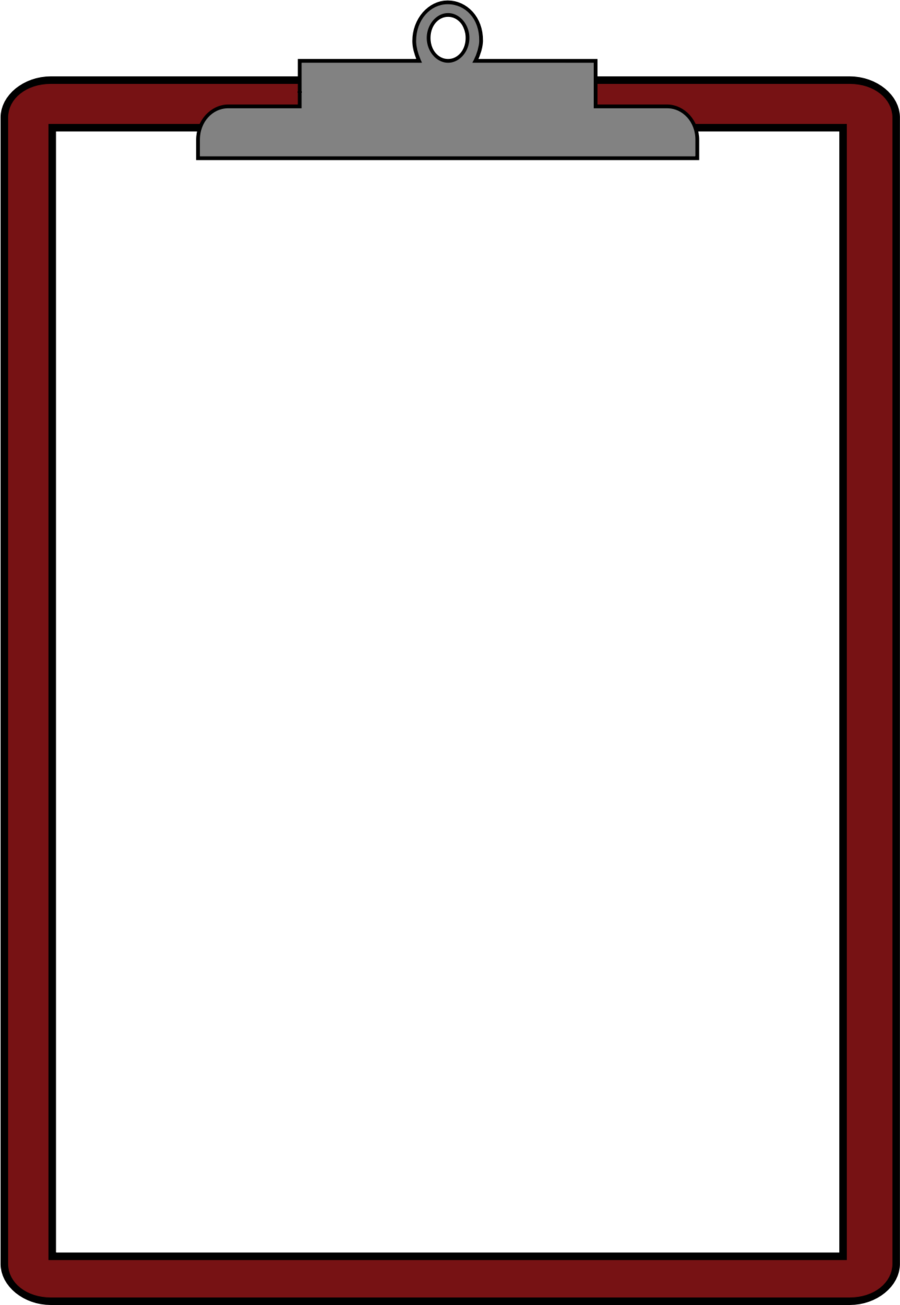 jpg library library Clipboard clipart. Red background text line.