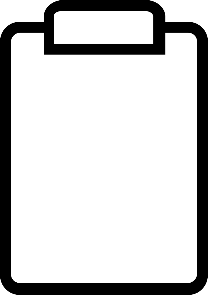 picture black and white download Clipboard clipart black and white. Essential light svg png