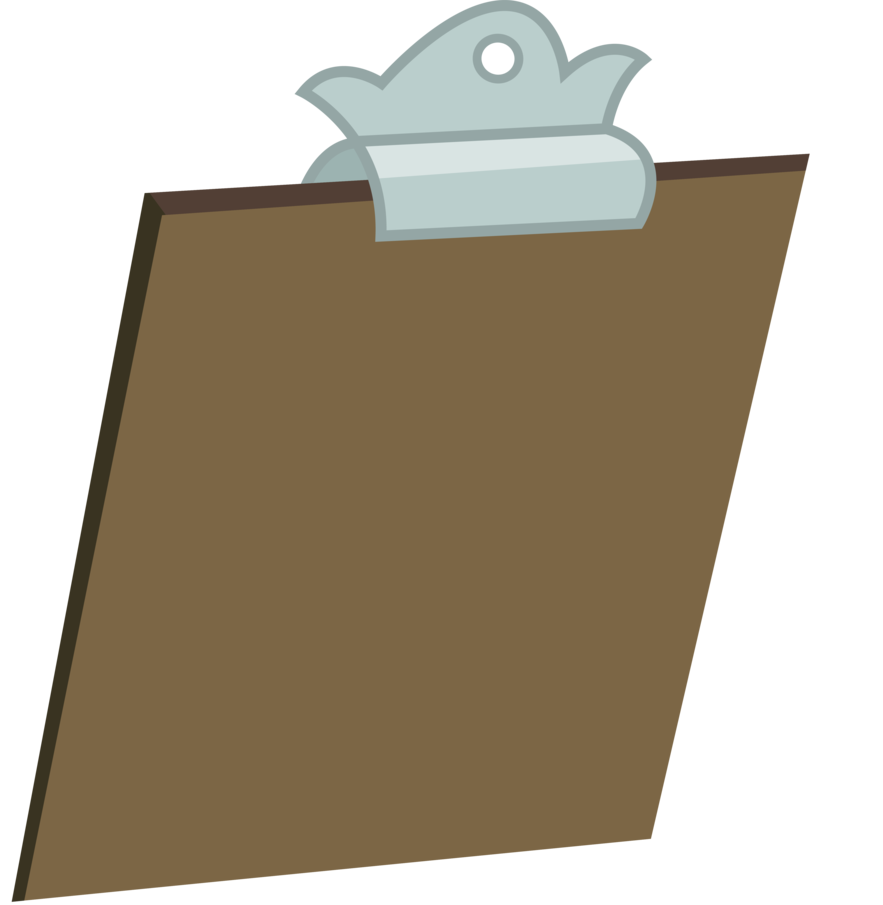 picture royalty free stock Clipboard clipart brown board. Principal s by illumnious.