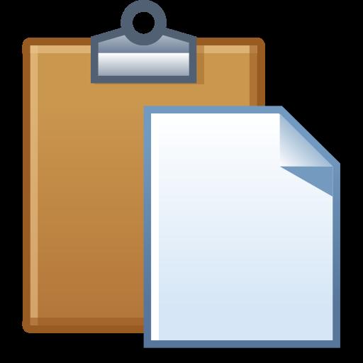 clip free download Paste task icon size. Clipboard clipart brown board.