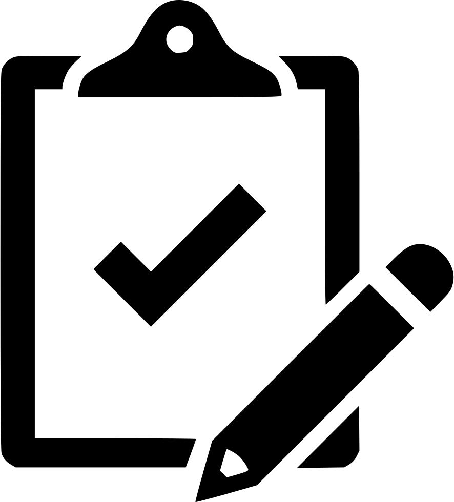 clip transparent Clipboard clipart svg