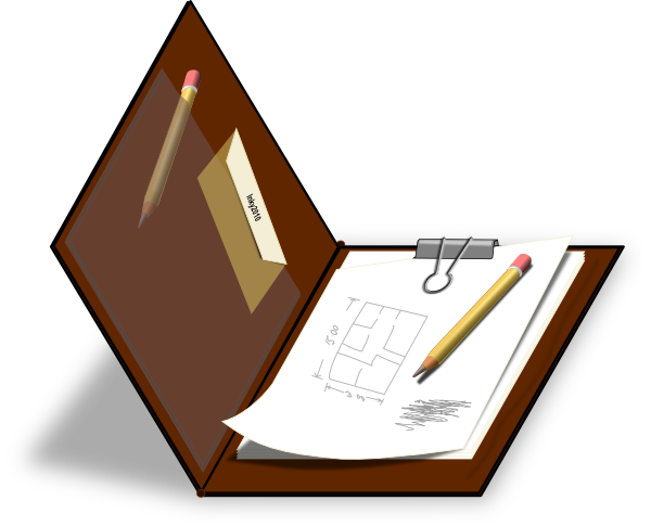 banner library stock Brown clip art at. Clipboard clipart free