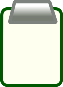 banner transparent stock . Clipboard clipart green.