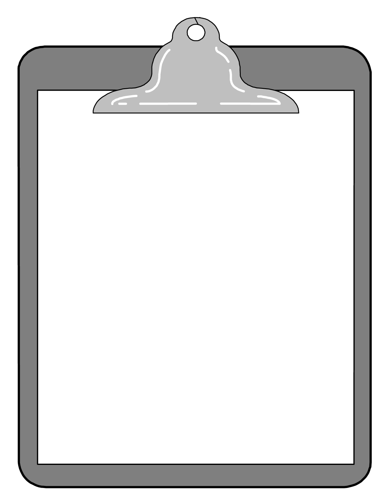 clip art transparent Board clip black and white. Free clipboard clipart png
