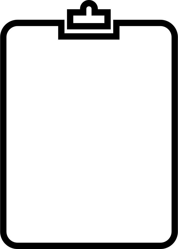 png free stock Clipboard Outline Svg Png Icon Free Download