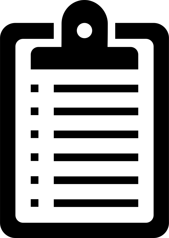 stock List clipart clipboard. Board svg png icon.