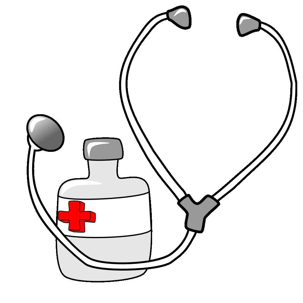 clipart black and white stock Onlinelabels clip art medicine. Pediatrician clipart item.