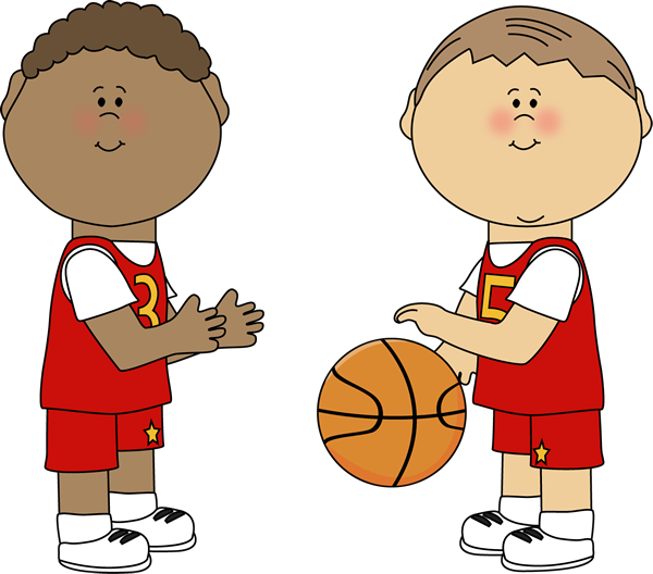 clip freeuse library Clock clipart basketball. Boys playing printables pinterest.