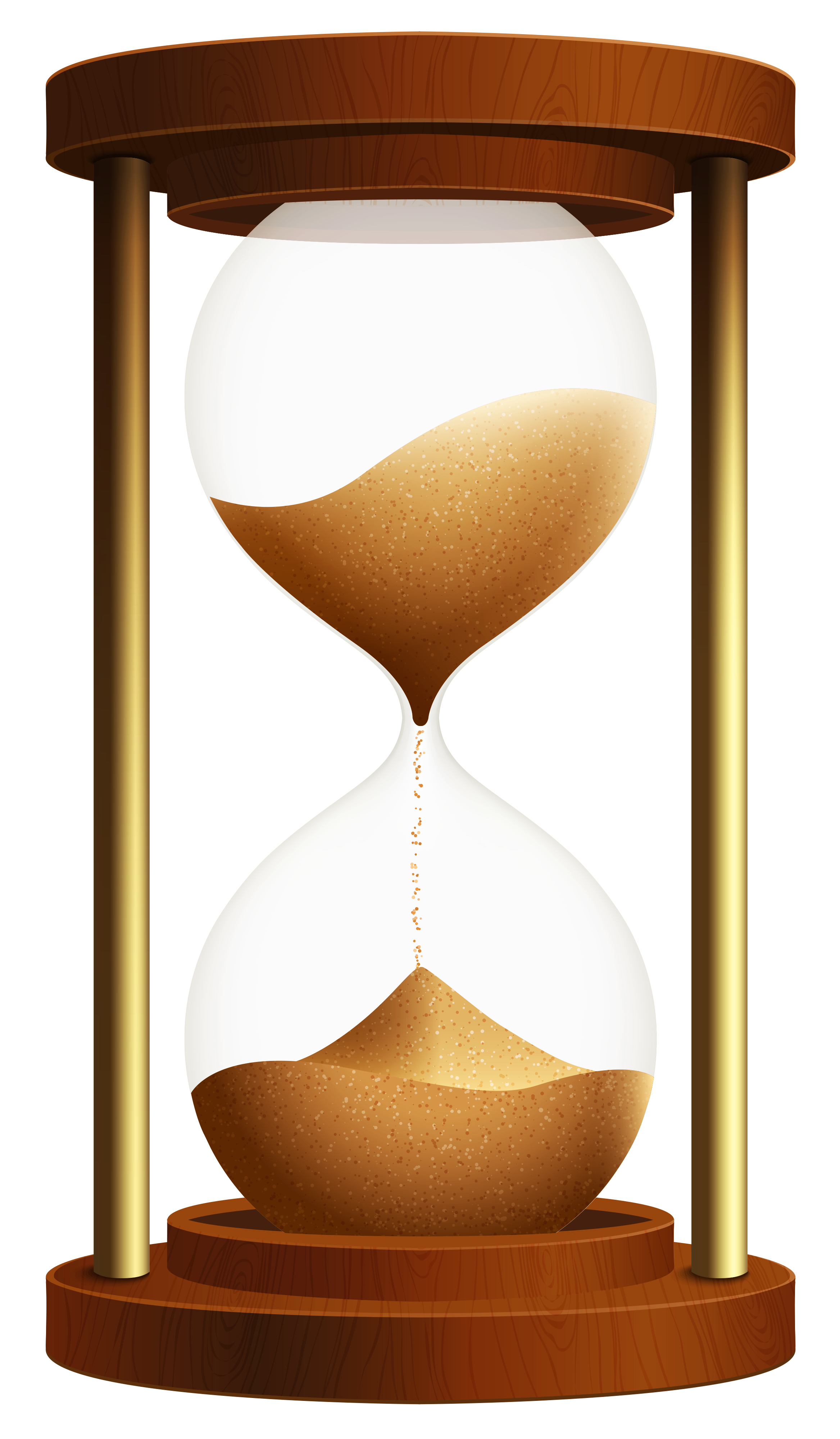 vector royalty free download Clock clipart candle. Sand png best web.