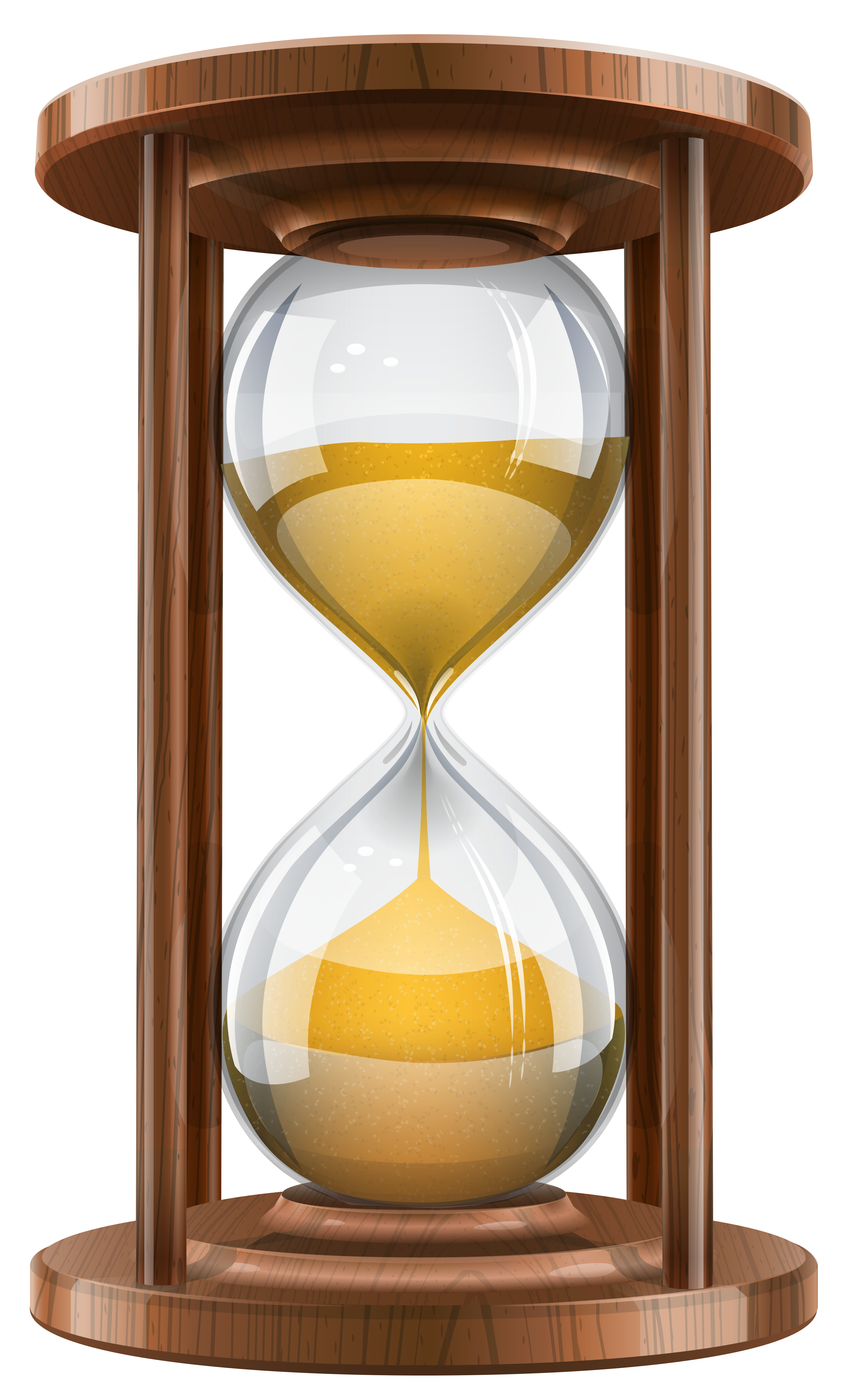 download Wooden sand png clip. Clock clipart candle.