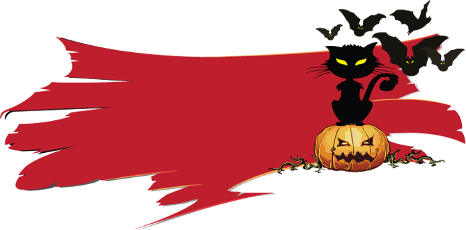 transparent library  collection of high. Clock clipart halloween.