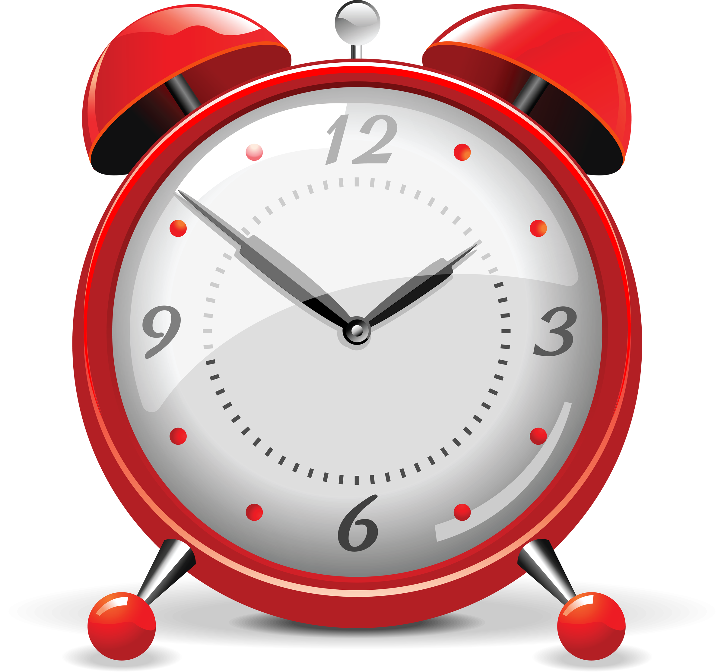 vector stock Red Clock Png Alarm
