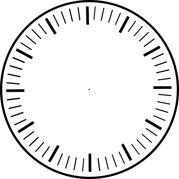 clipart freeuse library art clock face template