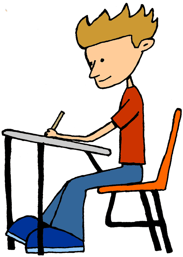 clip art Miracle Of Student Working Hard Clipart