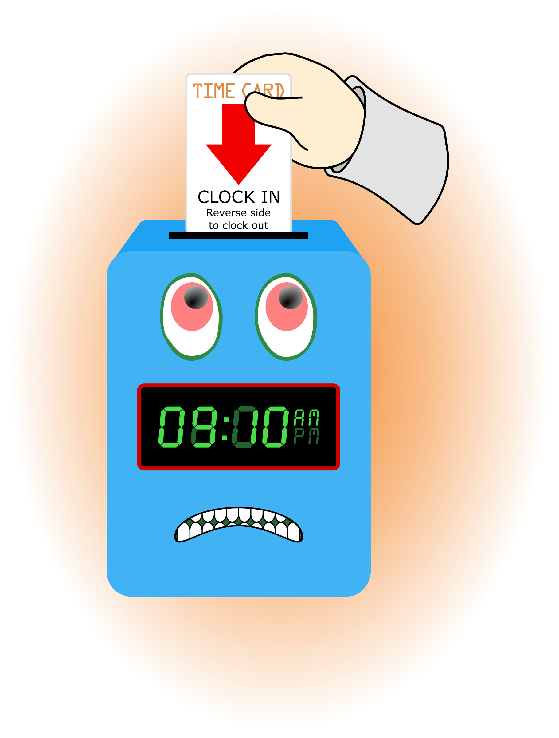 graphic library Angry big image png. Clock clipart time.
