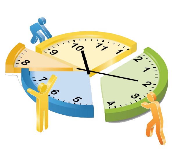 vector transparent Clock clipart time management.  collection of managing.