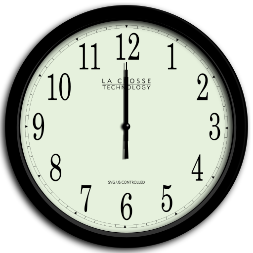 royalty free File animated analog wikimedia. Clock svg.