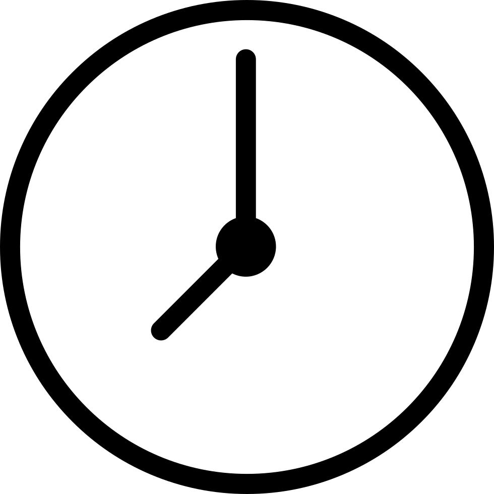 clipart free stock Clock svg. Png icon free download.