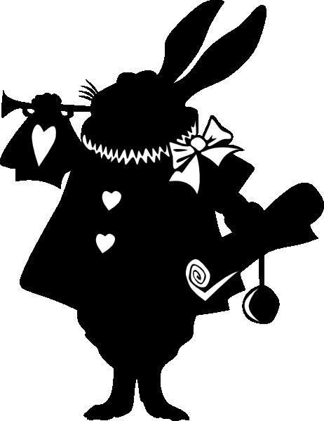 image transparent stock alice in wonderland silhouette