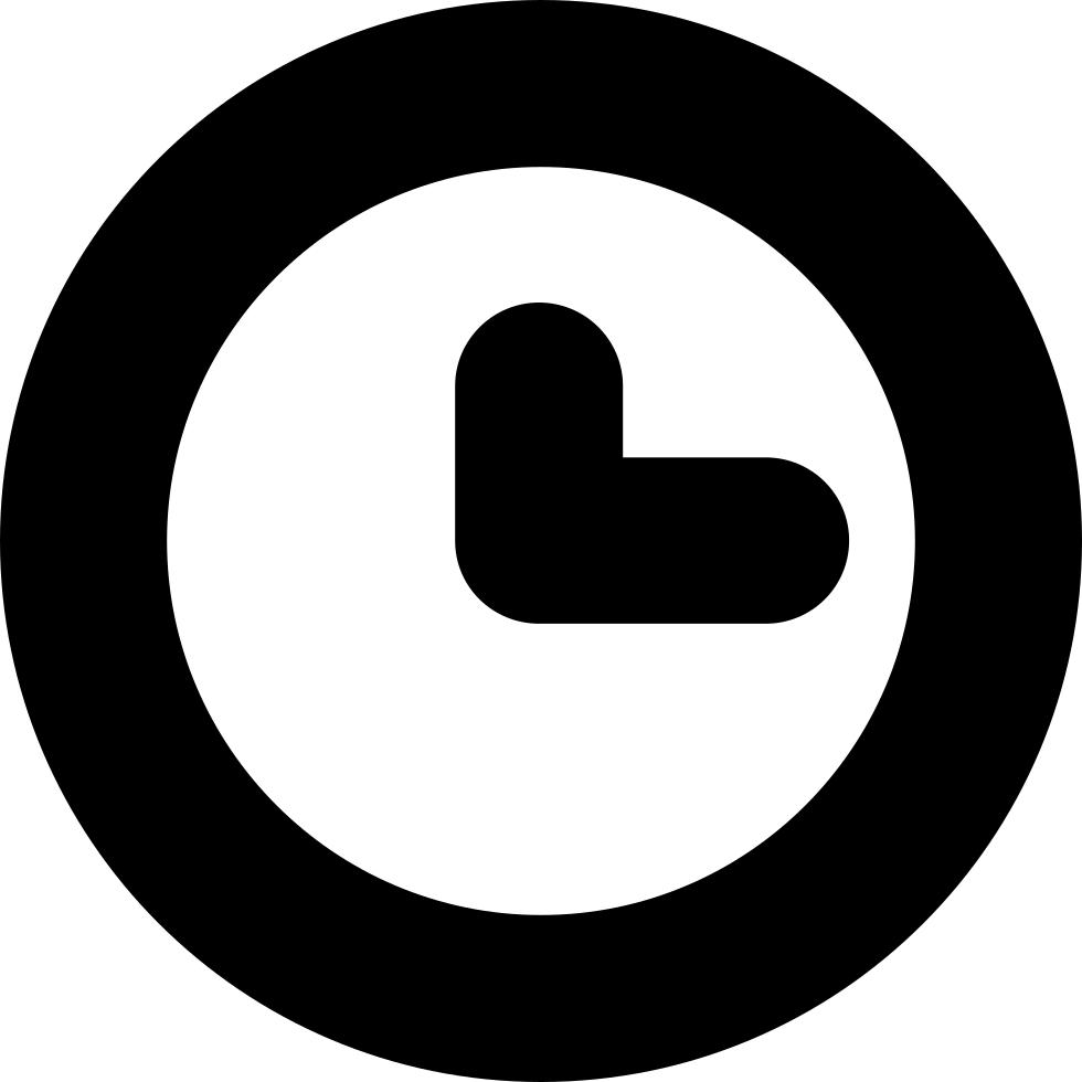 svg Basic Clock Svg Png Icon Free Download