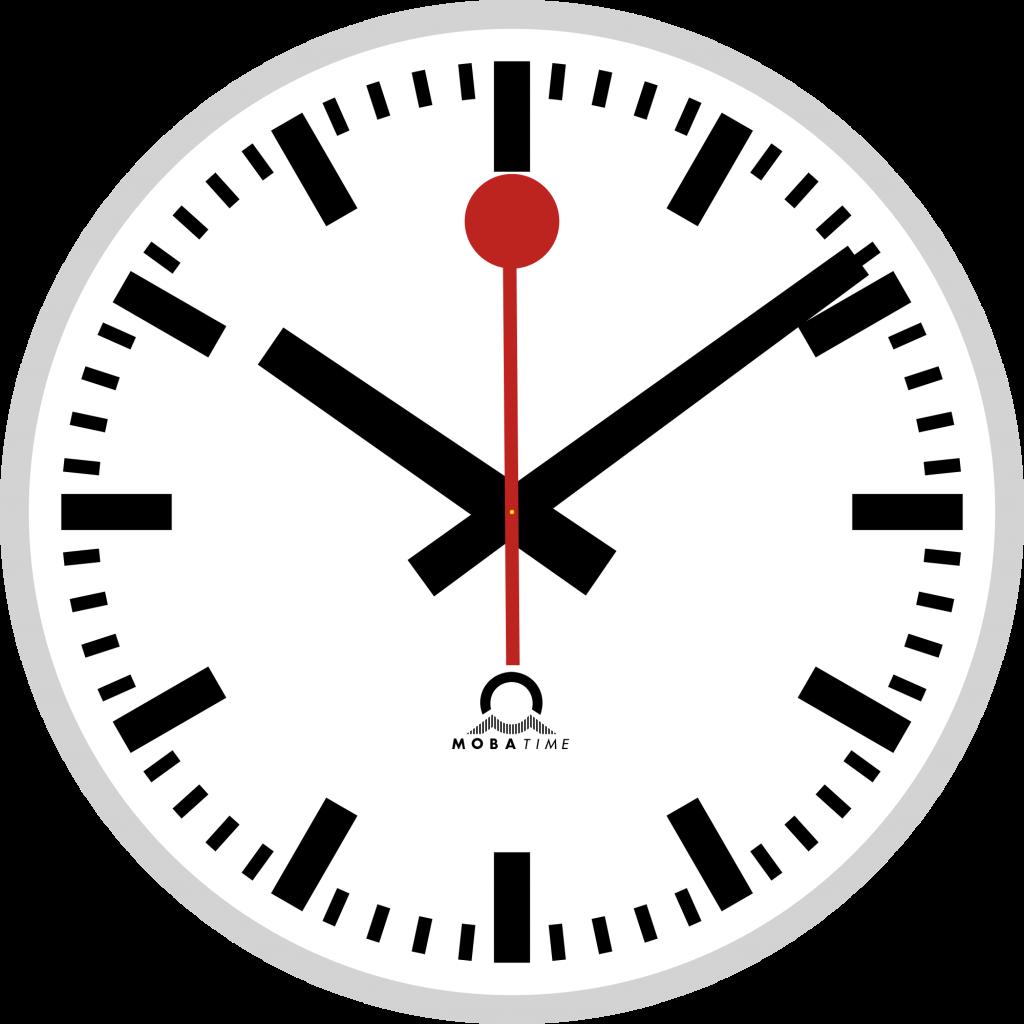 jpg freeuse Swiss Railway Wall Clock