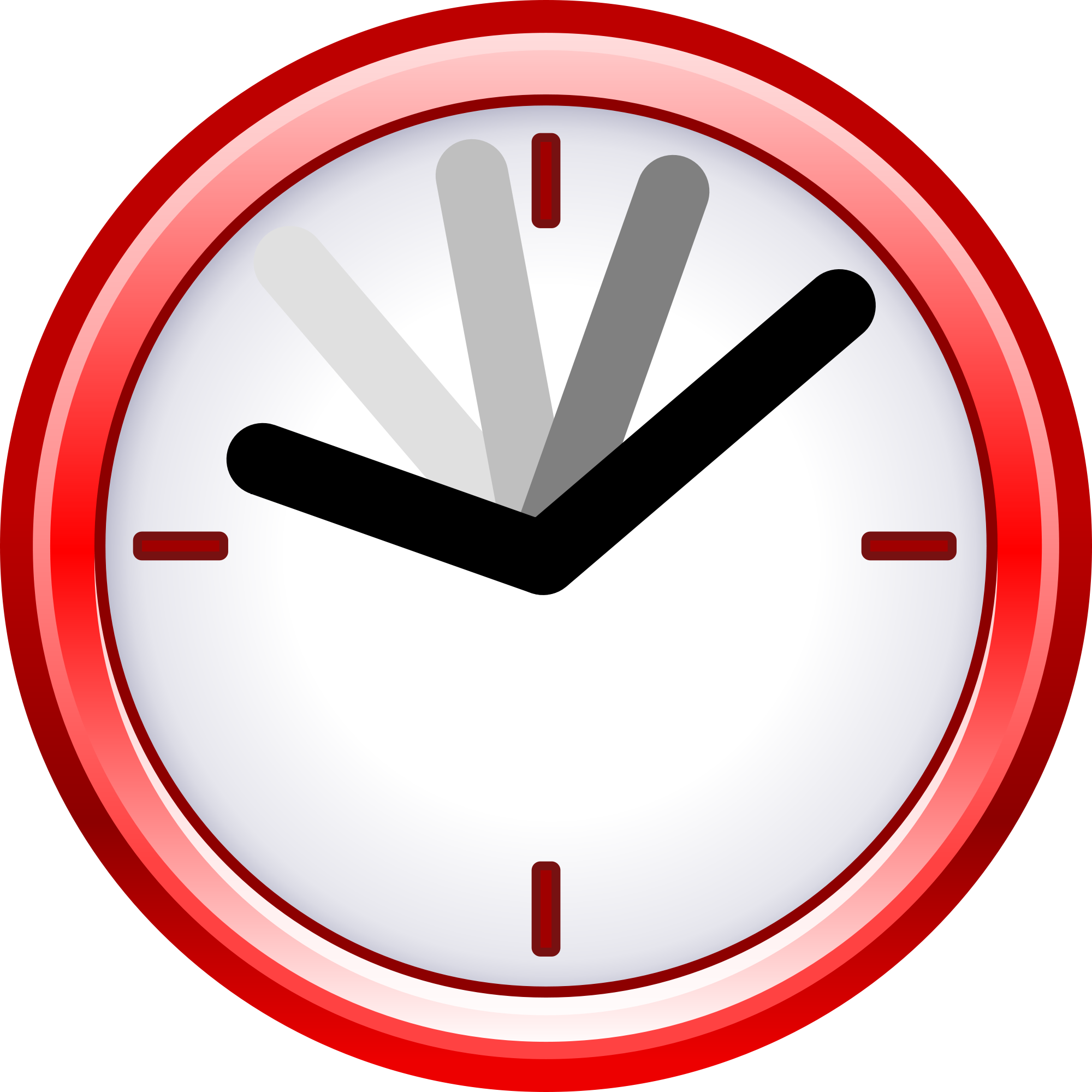 clip art royalty free download clock svg red #92486161