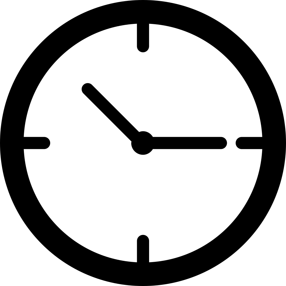 clipart freeuse stock Simple Clock Svg Png Icon Free Download