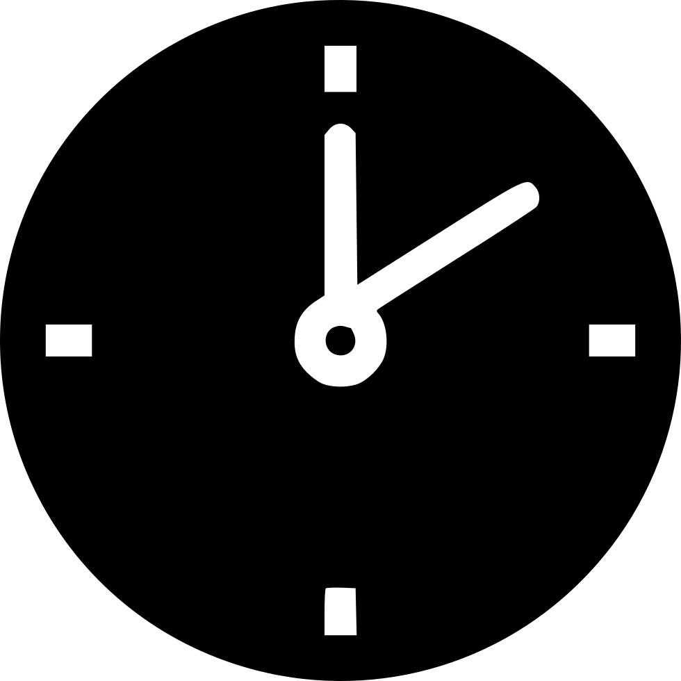 clipart royalty free library Clock Svg Png Icon Free Download