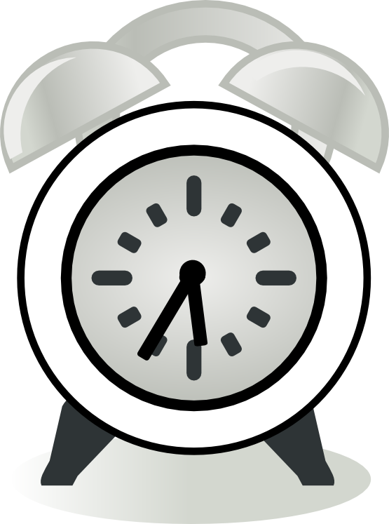 image royalty free stock Clocks clipart. Clock black and white
