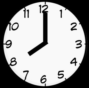 picture stock clocks clipart 8pm #29990498