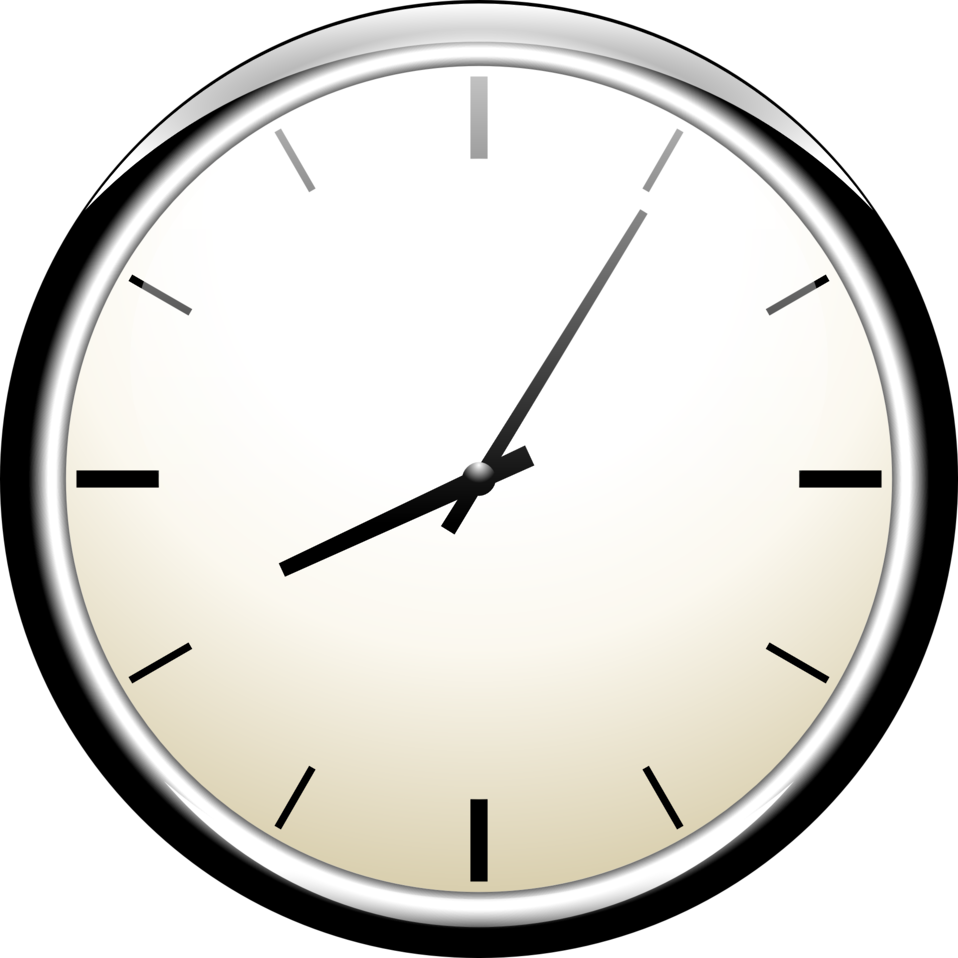clip art black and white stock Clocks clipart calendar. Public domain clip art.