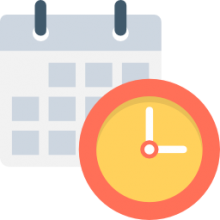 png library The best ranked product. Clocks clipart calendar.