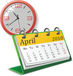 image library download Clock And Calendar Clip Art at Clker