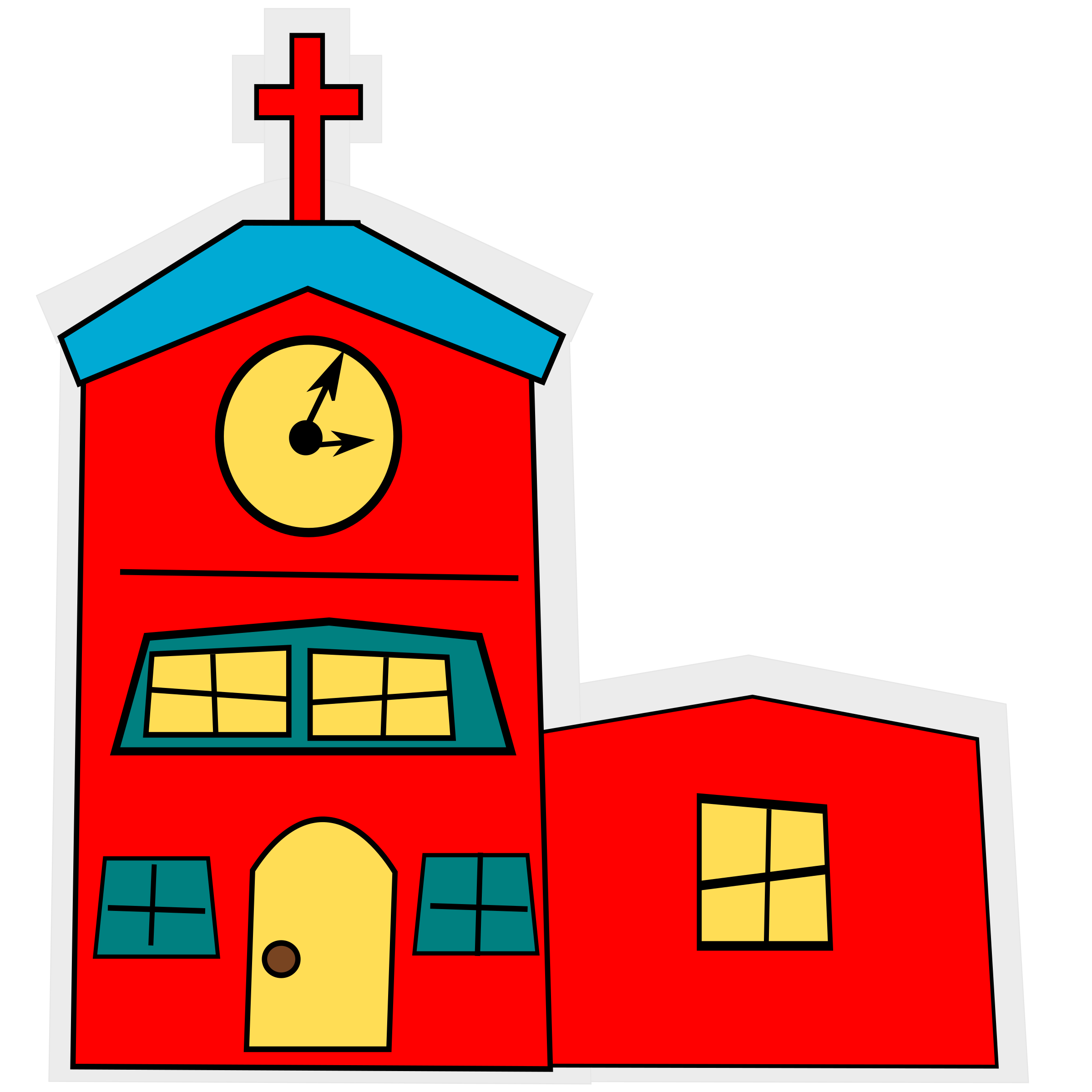 clip black and white Clocks clipart church. The clock clipground.