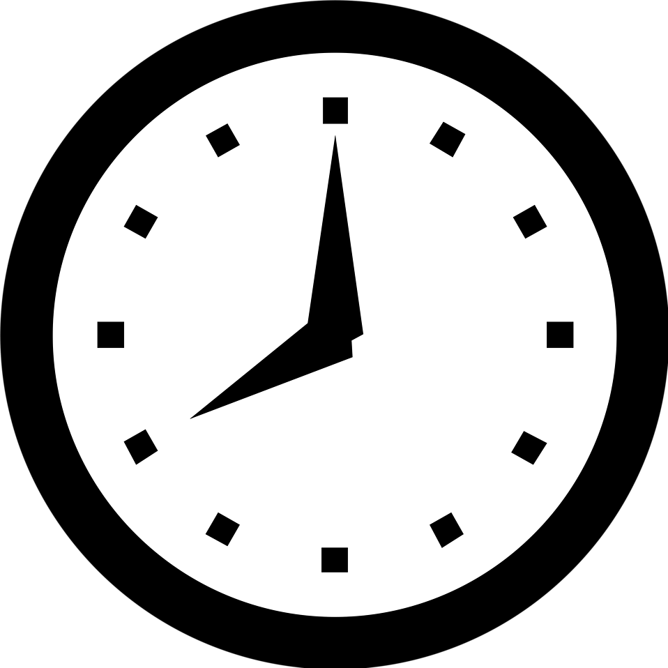 svg royalty free stock Clocks clipart clear background.  collection of clock.