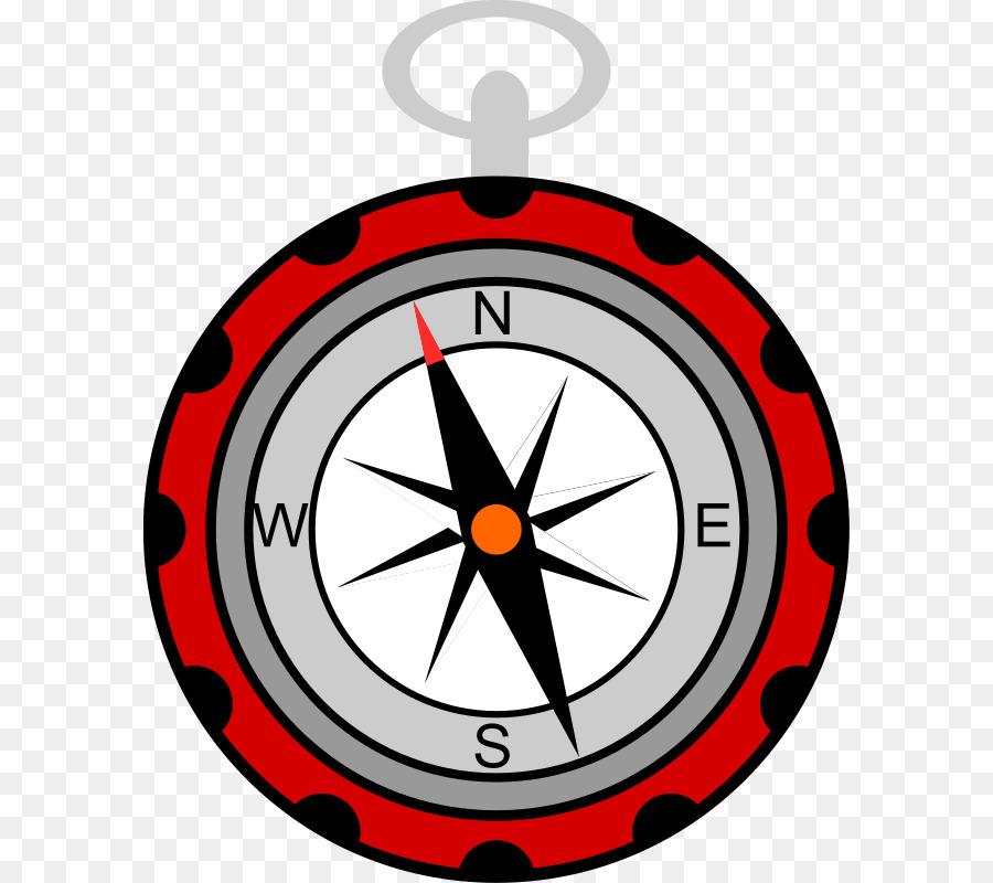 image library Clocks clipart compass. Clock cartoon line circle.
