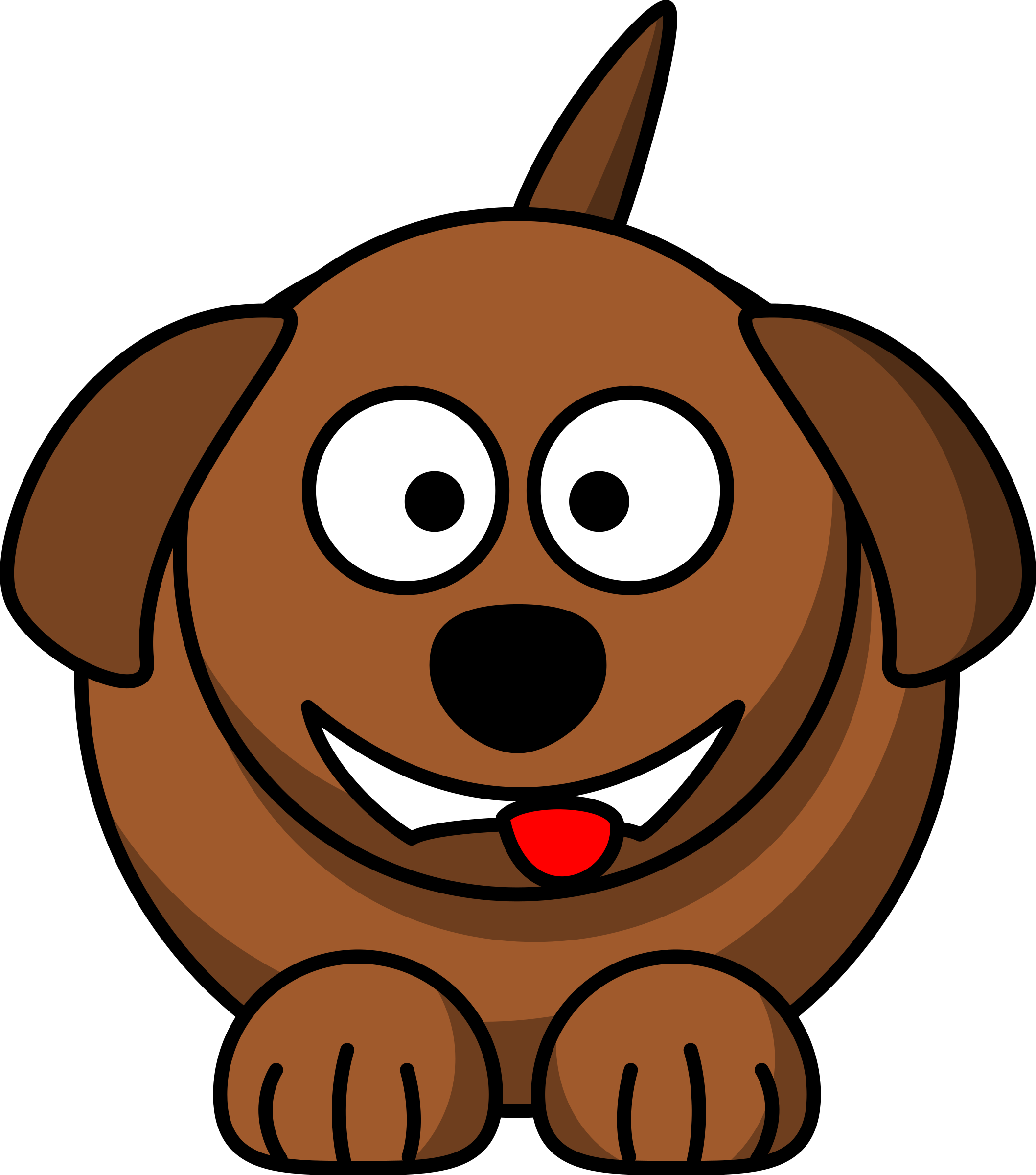 jpg black and white download Clocks clipart dog. Smiling clipground.