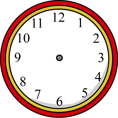 freeuse Without hands . Clocks clipart girly.