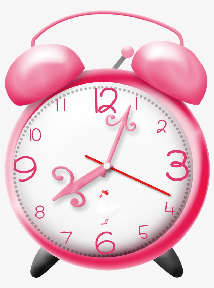 banner royalty free library Clocks clipart girly. Clock pink png transparent.