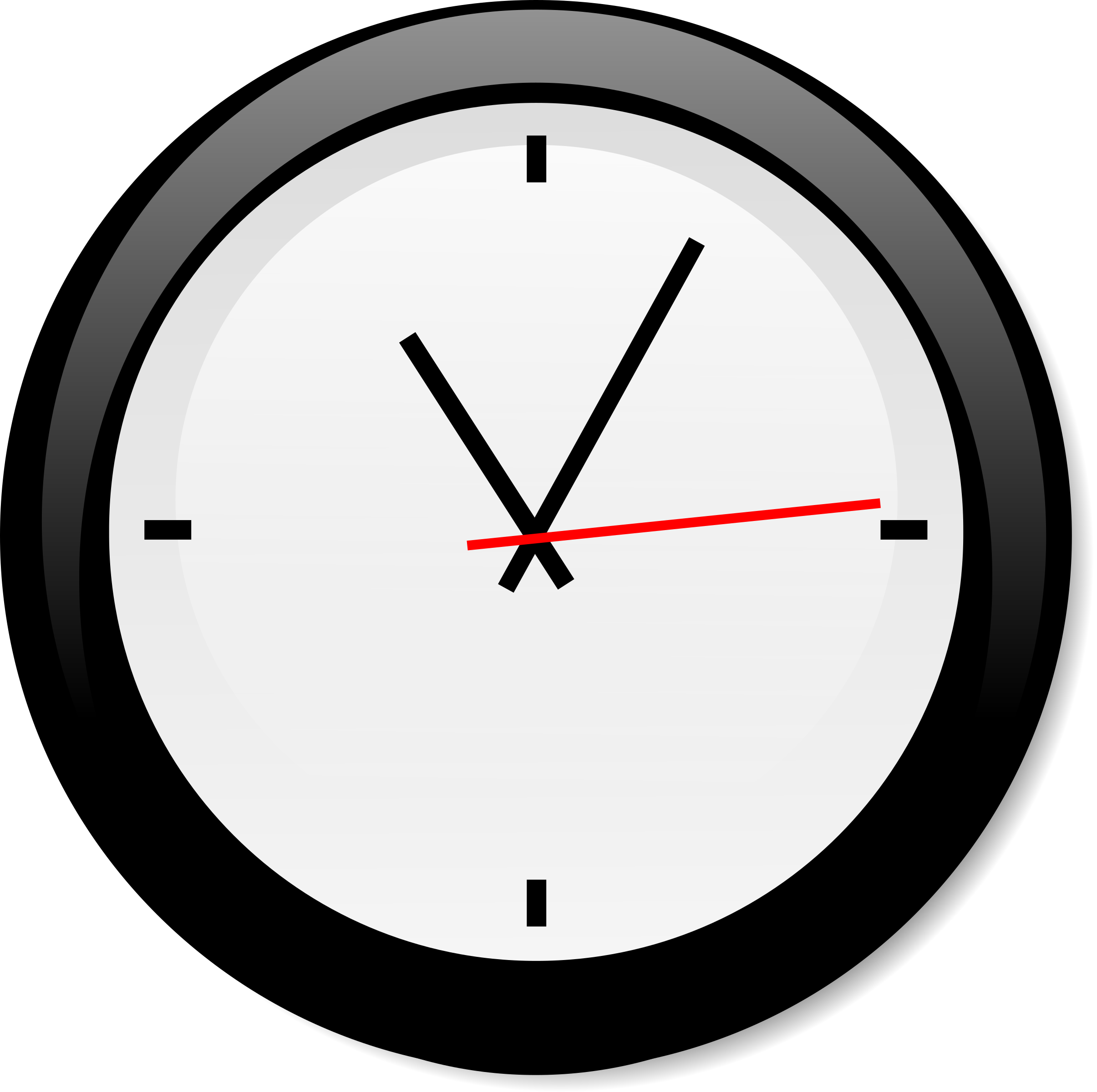 svg royalty free Clocks clipart oval. Clock pencil and in.