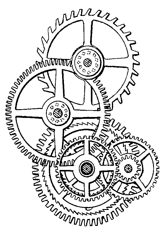 royalty free download Watch Gears Drawing at GetDrawings