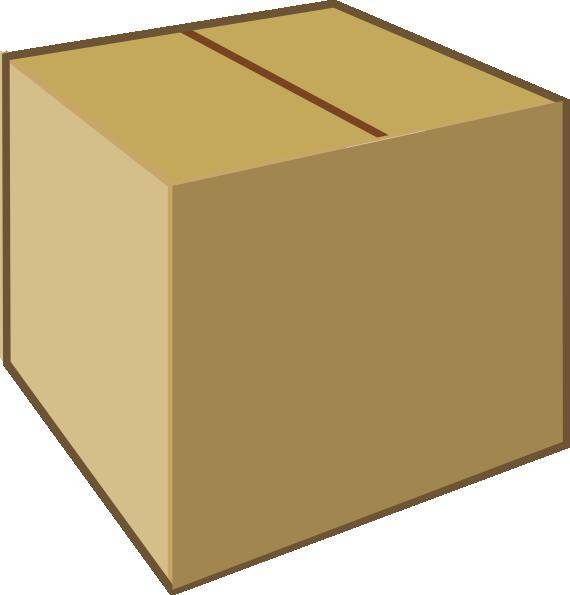 picture free stock Big Closed Box Clipart