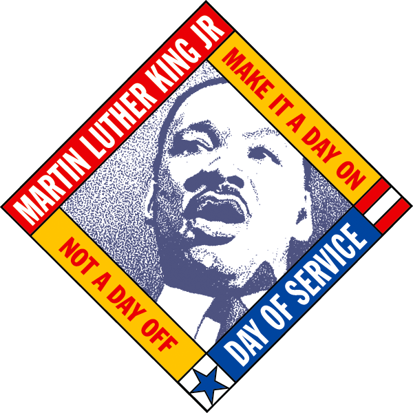 vector royalty free library Mlk clipart bulletin. How to celebrate and.