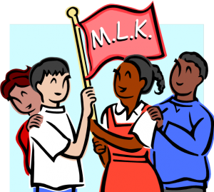 image royalty free library Closed clipart mlk day. Okc martin luther king.