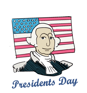 free stock Closed clipart mlk day. Presidents calendar history events.
