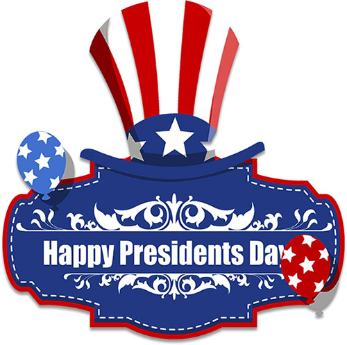 svg royalty free download Free graphics happy images. Closed clipart presidents day.
