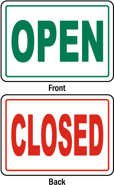 graphic royalty free stock Closed clipart temporarily. Signs physic minimalistics co.