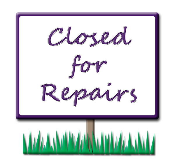 image transparent library Closed clipart temporarily. Index of drawings closedforrepairspng.