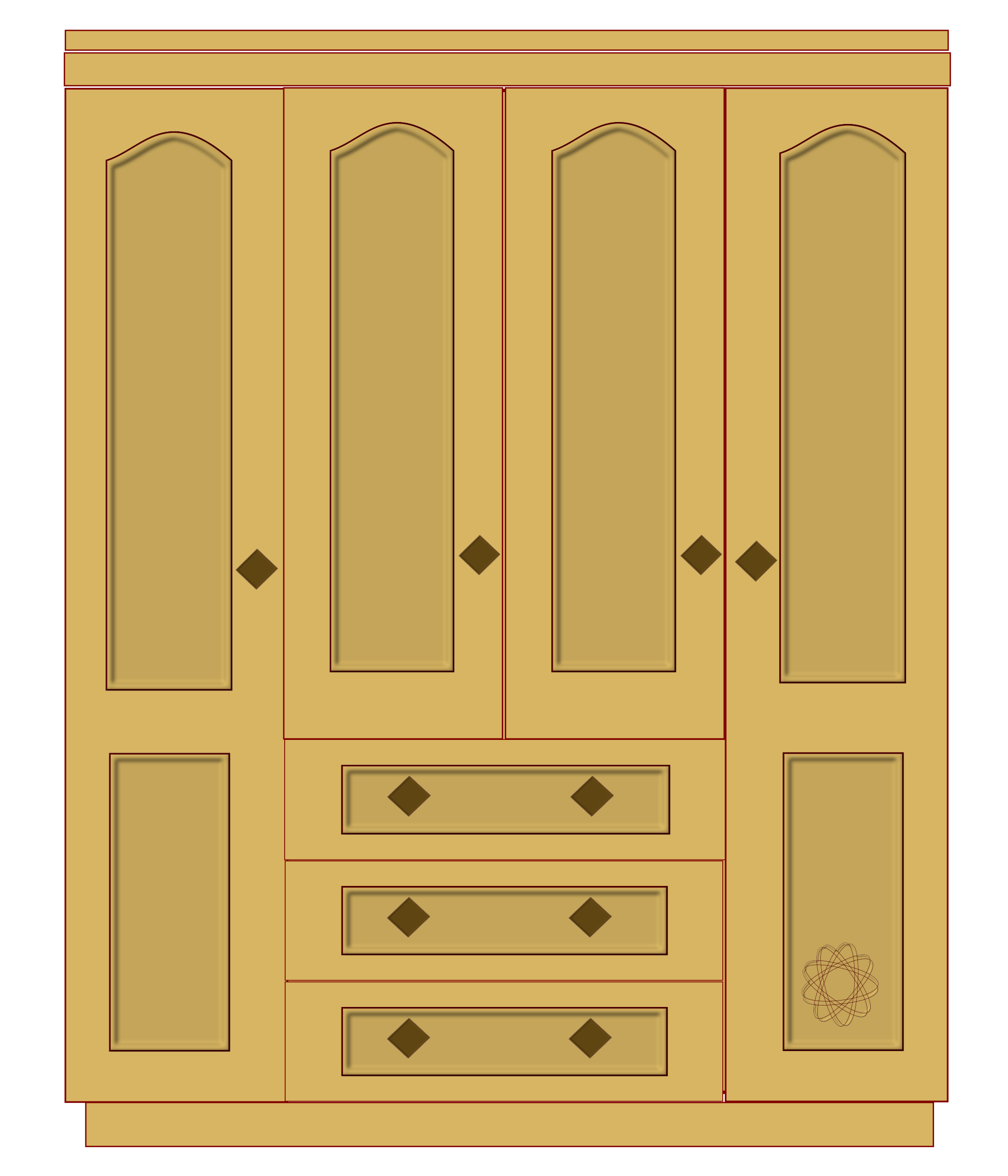 transparent library Closet clipart. Door white png clip