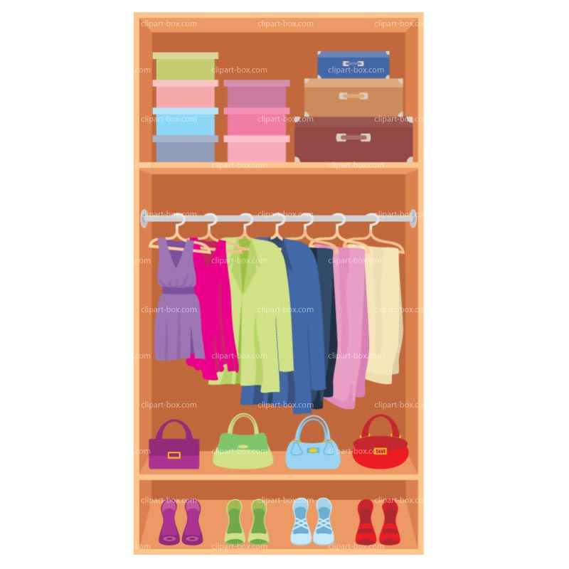 image library Closet clipart.  clipartlook